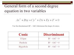 ellipse general form math 4 general form mathletics answers