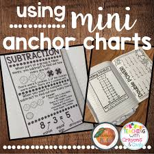 My Mini Anchor Chart The Primary Peach Helpful Harvest Using Mini Anchor Charts