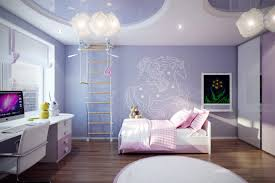 lighting for girls bedroom. Cute Purple Little Girls Bedroom Ideas Combined With Artistic Bright White Lighting For S