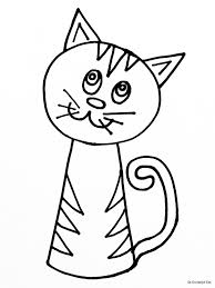 Kleurplaten Katten Kleurplaten Kleurplaat Poezen Katten