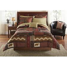 Moose Kitchen Decor Mainstays Cabin Bed In A Bag Coordinated Bedding Set Walmartcom