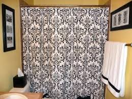 brown and black shower curtain interior modern blue and brown shower curtain ideas the black cream brown and black shower curtain
