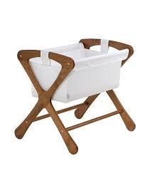 amazoncom  cariboo classic bassinet in teak  baby