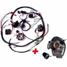 complete electrics gy6 150cc wiring harness buggy atv carburetor image is loading complete electrics gy6 150cc wiring harness buggy atv