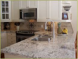 Kashmir White Granite Kitchen Awesome Sensa Granite Countertops With Stainless Washbasin For