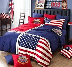 american flag duvet cover debenhams united states flag blue cotton 4pcs bedding sets bedclothes set bed