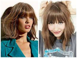 Hairstyles With Blunt Fringe 40 Cool Lob Hairstyle Inspirations To Give That Wow Factor Bobs