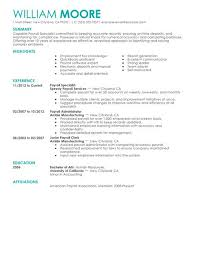 Payroll Resume Template Best of Payroll Resume Template Best Specialist Example LiveCareer 24 24
