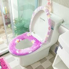 2pcs set winter toilet seat cover warmer plush thicken toilet covercomfortable potty seat overcoat toilet