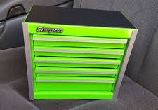 snap on tool sets for sale. snap-on tool box miniature roll cabinet in extreme green nib snap on sets for sale
