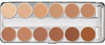 dermacolor camouflage creme is an especially highly pigmented make up which is designed to correct and cover skin disfigurements discolorations and