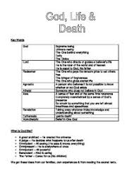 re life after death gcse religious studies philosophy  god life and death