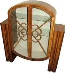 vintage art deco furniture. 1930s art deco walnut display cabinet furniturevintage vintage furniture