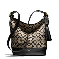 Lyst - Coach Legacy Duffle in Printed Signature Fabric in Black