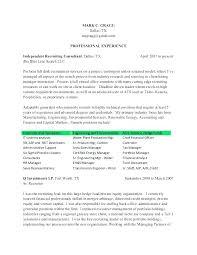 Technical Recruiter Resume Sample Best Of Recruiter Resume Samples Senior Template Hr Cv Mobstr