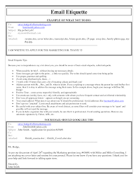 Cover Letter Sending A Cover Letter And Resume Via Email Sending A