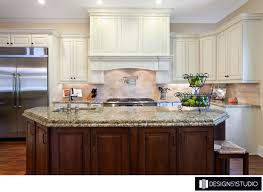 Country Kitchen Design Magnificent FRENCH COUNTRY KITCHEN ISLAND WOOD HOOD HOLLY WIEGMANN