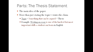 Drafting Components Of An Essay Lessons Tes Teach