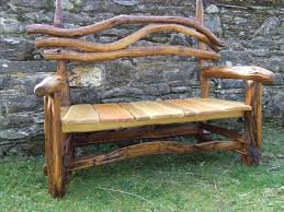 rustic wooden outdoor furniture. Image Of: Rustic Outdoor Furniture Bench Plans Wooden E
