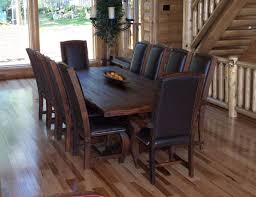 rustic dining table and chairs. Rustic Kitchen Tables | Dining Room Furniture - Western Decor, Table And Chairs L