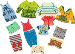 <b>Djeco Пазл</b> для малышей <b>Одежда</b> для Жожо — купить в ...