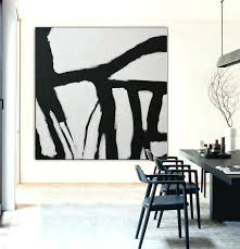 abstract acrylic painting black and white image 0 abstract acrylic painting red black and white