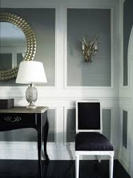 beautiful wall trim moulding living room design by greg natale