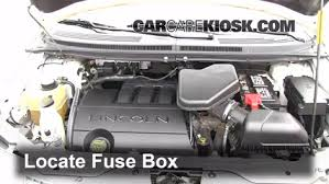 replace a fuse 2007 2015 lincoln mkx 2007 lincoln mkx 3 5l v6