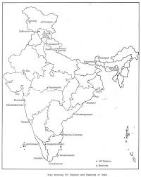 essay on tourism in growth and classification map showing hill stations and beaches of
