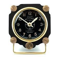 small desk clocks desk clock metal altimeter desk clock black brass small desk clock small desk small desk clocks