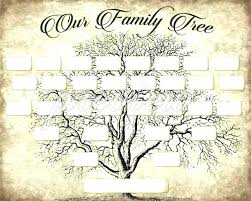 Genealogy Book Template Family History Book Template Weekly Family