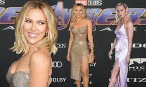 Avengers Endgame Premiere Sees Scarlett Johansson And Brie Larson