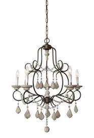 interior spaces iron wood bead chandelier 1950