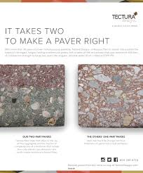 Tectura Designs Pavers Architectural Products July August 2017 By Construction