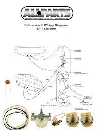 guitar parts n luthiers supplies parts materials for allparts ep 4131 000 4 way wiring kit for telecaster®