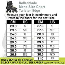 Rollerblade Twister Edge Mens Adult Fitness Inline Skate Black And Yellow High Performance Inline Skates