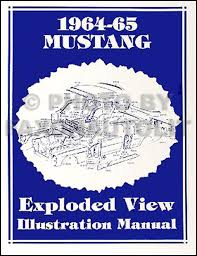 1964 1 2 ford mustang wiring diagram manual reprint related items