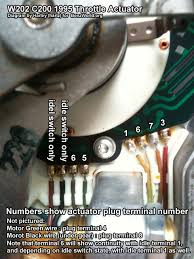 repairing your engine wiring harness page 17 mercedes benz forum repairing your engine wiring harness actuator wires numbered jpg