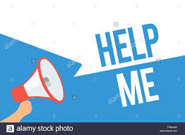 Writing Note Showing Help Me Business Photo Showcasing