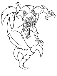 Ben Wolf Coloring Pages