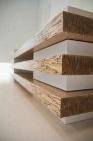 concrete and wood furniture. Detail Of Contemporary Bench In Concrete And Wood Combination Furniture R