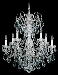 new orleans 10 light 110v chandelier in heirloom bronze with clear heritage crystal