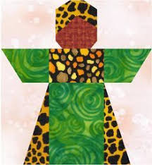 I created a quilt pattern based on this quilt and am using lovely ... & Traditional African girl paper pieced pattern and quilt | LinleysDesigns -  Patterns on ArtFire Adamdwight.com