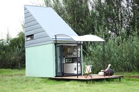 Pod Home Solar Powered Pod Idladla Is A Tiny Flat Pack Home For Two That