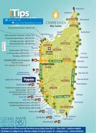 downtown cozumel map  cancun tips
