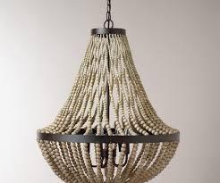 new diy beaded chandelier