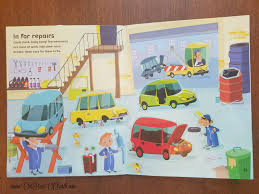 usborne first sticker book cars