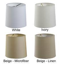 chandelier shades white