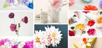 How To Make The Paper Flower 17 Stunning How To Make Paper Flowers Tutorials Sad To Happy Project