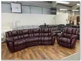 la z boy augusta 4 seater curved sofa power recliner